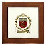 MIVILLE Family Crest Framed Tile