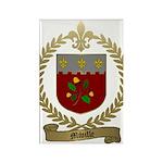 MIVILLE Family Crest Rectangle Magnet (10 pack)