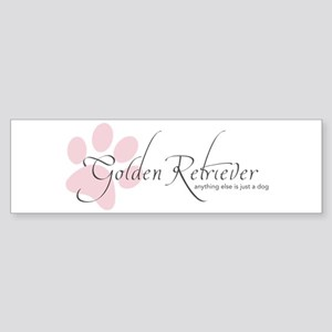 Golden Retriever Bumper Sticker