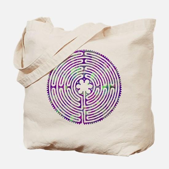 Chartres Labyrinth Bubble Tote Bag