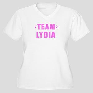 Team LYDIA Women's Plus Size V-Neck T-Shirt
