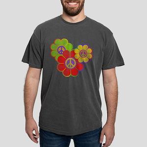 Flower Power Mens Comfort Colors Shirt T-Shirt