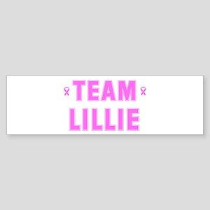 Team LILLIE Bumper Sticker