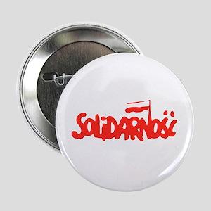 """Solidarnosc 2.25"""" Button"""