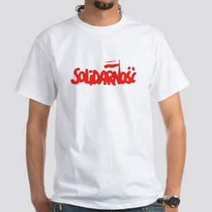 Solidarnosc White T-Shirt