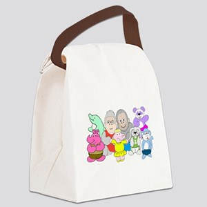 Allie and Friends Canvas Lunch Bag