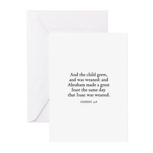Weaning greeting cards cafepress m4hsunfo
