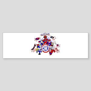Democrats Unite Bumper Sticker