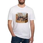 DE_dust2 print Fitted T-Shirt