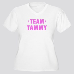 Team TAMMY Women's Plus Size V-Neck T-Shirt