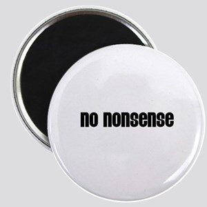 No nonsense Magnet