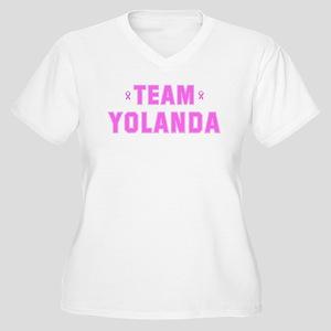 Team YOLANDA Women's Plus Size V-Neck T-Shirt