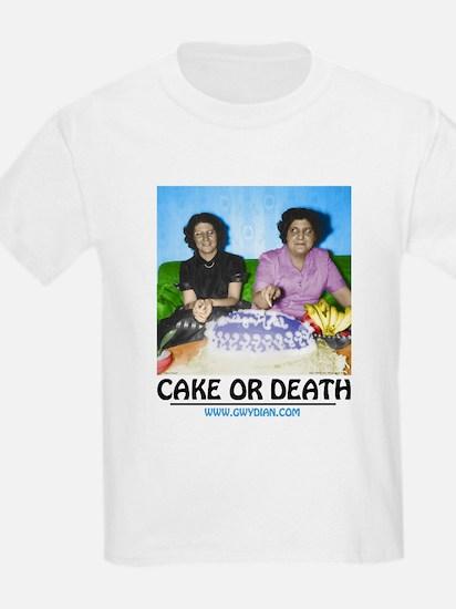 Cake or Death Kids T-Shirt