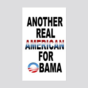 Another Real American Rectangle Sticker