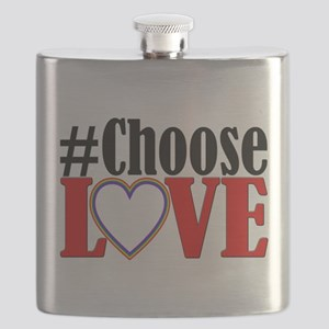 Choose Love Heart Flask