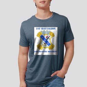 DUI - 1st Bn - 8th Infantry Regt with Tex T-Shirt