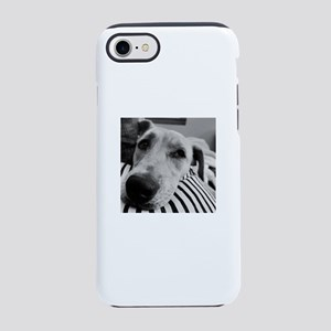 bw dog iPhone 8/7 Tough Case