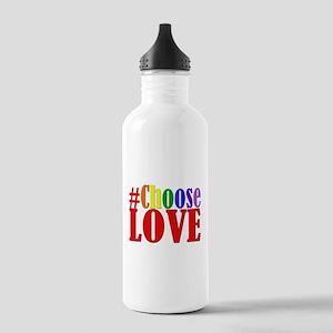 Choose Love Rainbow Water Bottle