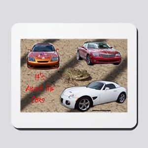 ALL ABOUT THE CARS Mousepad
