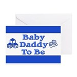 Baby Daddy to Be Greeting Cards (Pk of 20)