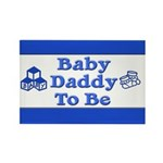 Baby Daddy to Be Rectangle Magnet (10 pack)