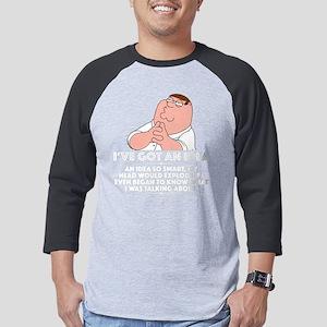 Family Guy Idea Dark Mens Baseball Tee