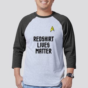 Redshirt Lives Mens Baseball Tee