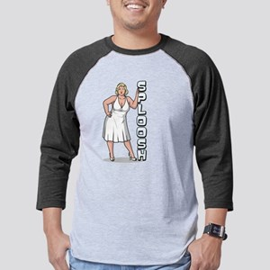 Archer Pam Sploosh Dark Mens Baseball Tee
