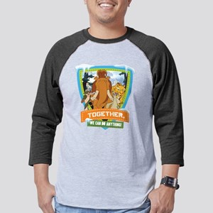Ice Age Together Dark Mens Baseball Tee