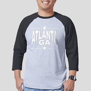 Atlanta GA Mens Baseball Tee