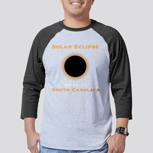 Solar Eclipse 2017 Total Solar E Mens Baseball Tee