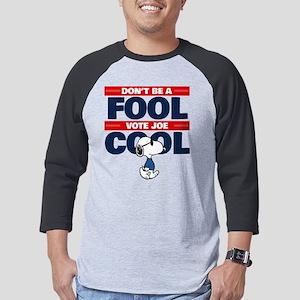 Vote Joe Cool Mens Baseball Tee