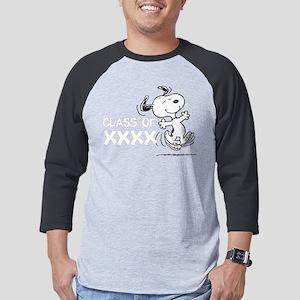 Snoopy Class of XXXX Mens Baseball Tee