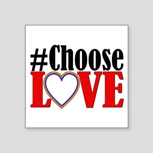 Choose Love Heart Sticker