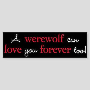 Werewolf Love Twilight Bumper Sticker