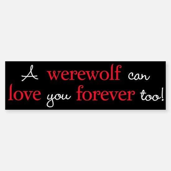 Werewolf Love Twilight Bumper Bumper Bumper Sticker