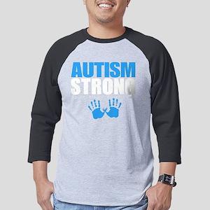Autism Strong Mens Baseball Tee