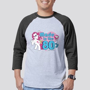 MLP Retro Made in the 80's Mens Baseball Tee