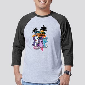 MLP Rollin' With the Ponies! Mens Baseball Tee