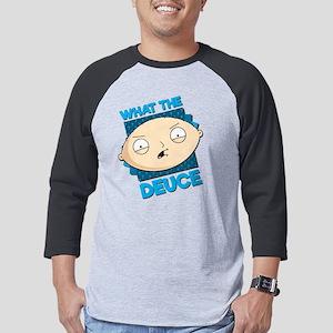 Family Guy What the Deuce Dark Mens Baseball Tee