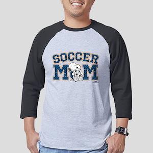 Snoopy Soccer Mom Mens Baseball Tee