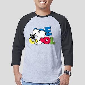 Joe Cool Mens Baseball Tee