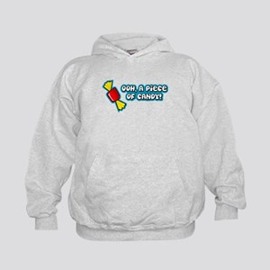 'Ooh Piece Of Candy' Kids Hoodie