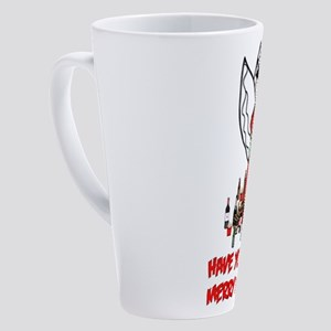 Christmas Pirate Angel 17 oz Latte Mug