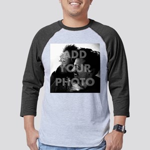 Add Your Photo Mens Baseball Tee