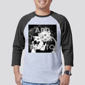 Add Your Photo Apparel Mens Baseball Tee