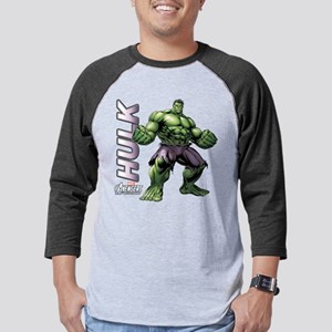 The Hulk Mens Baseball Tee