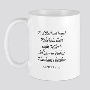 GENESIS  22:23 Mug