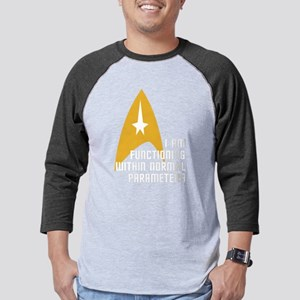 Star Trek - Normal Parameters Mens Baseball Tee