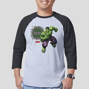 Avengers Hulk Personalizable Ini Mens Baseball Tee